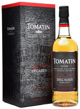 Tomatin Scotch Single Malt Decades